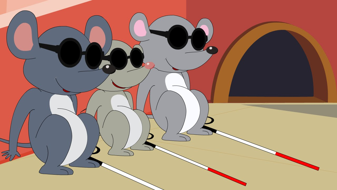 Image result for three blind mouse