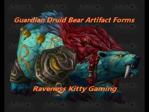 Legion Artifact Weapon Bear Forms - Raven's Comments - YouTube