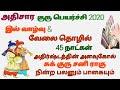 Athisaram Jupiter Transit 2020 / Jupiter Transit Adhisaram 2020 / Athisara Guru Peyarchi 2020