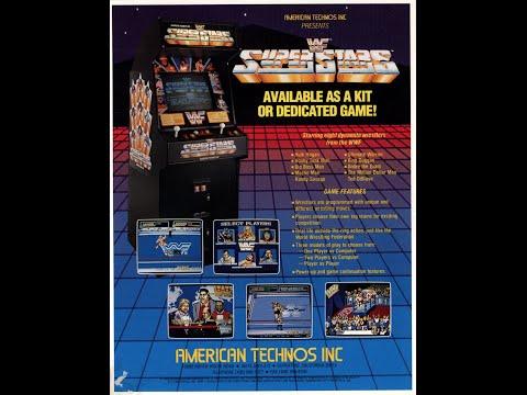 WWF Superstars ARCADE Playthrough