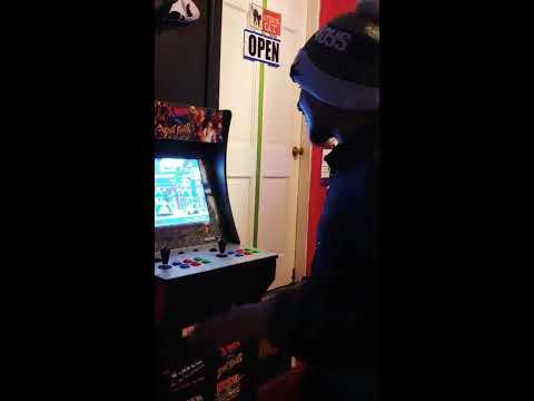 x men vs street fighter arcade 1 up gameplay of marvel vs capcom and x men vs street fighter from TK9-SORRYK9OMG