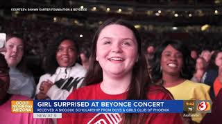 Baixar VIDEO: Phoenix high school student gets $100K scholarship from Beyonce and Jay-Z