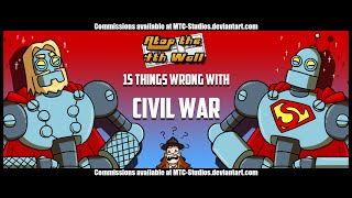 15 Things Wrong With Marvel's Civil War Comic - Atop the Fourth Wall