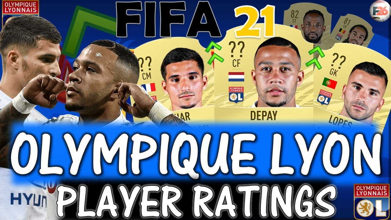 FIFA 21 | OLYMPIQUE LYON PLAYER RATINGS PREDICTIONS!! FT. DEPAY, AOUAR, LOPES ETC... (FIFA 21)