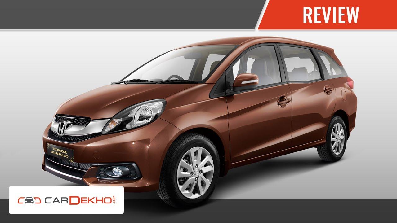 Know Your Honda Mobilio Review Of Features I Cardekho Com Youtube