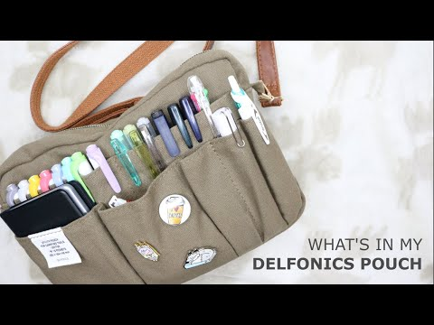 WHAT'S IN MY BAG // Delfonics Pouch