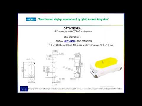 LED Management and Measurement in TOLAE Applications