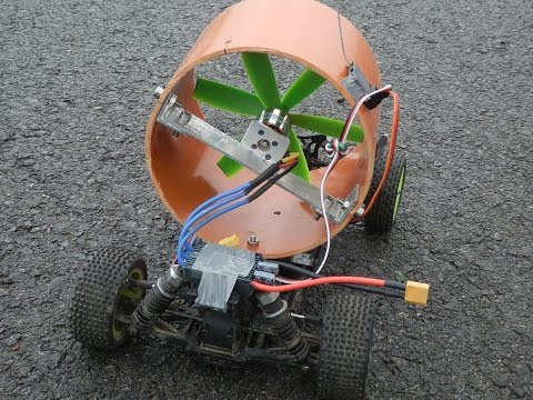 Electronic ducted car - 1:10 RC Car with home made EDF
