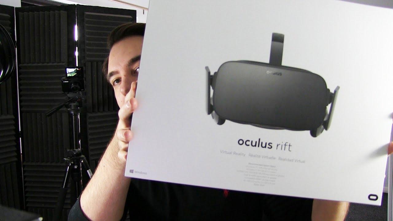 Oculus Rift Cv1 - Unboxing  Setup - Youtube-3720