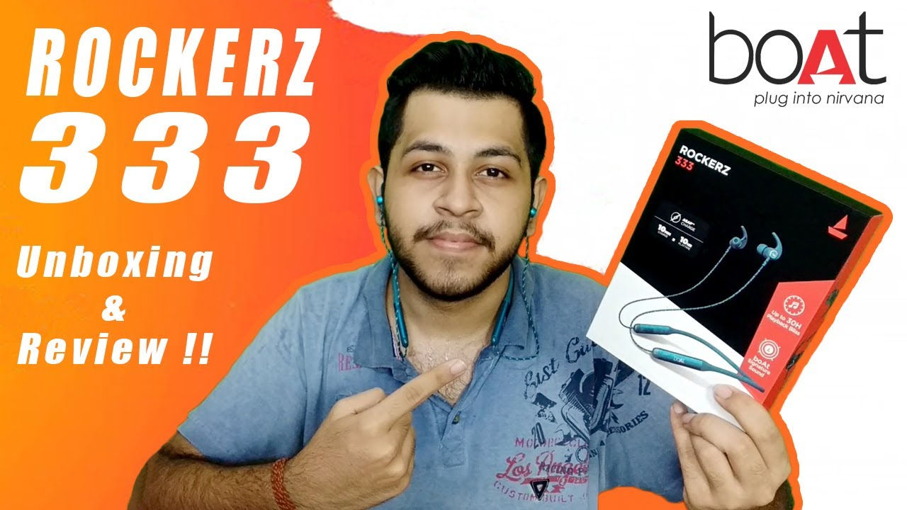 Boat Rockerz 333 Unboxing & Quick Review in Hindi | Best Neckband Under 1500 ?⚡⚡