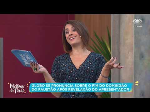 Globo se pronuncia sobre fim do Domingão do Faustão