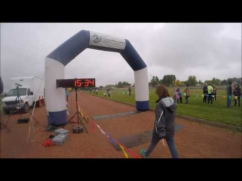 2016 Billings Middle School XC Meet 3   Castle Rock Park Finish