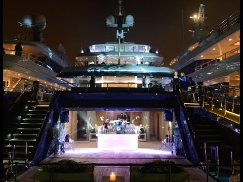 Diddy's Yacht Party in Cannes