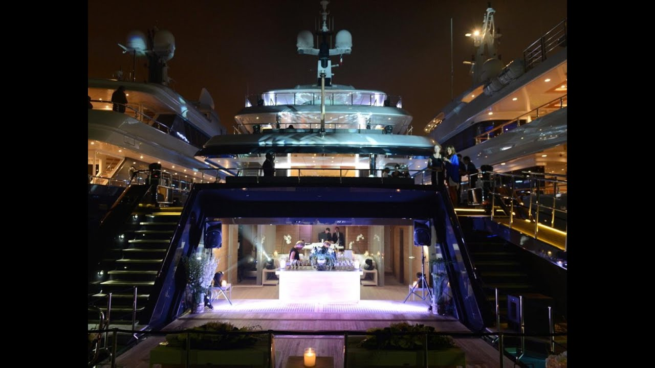Diddy S Yacht Party In Cannes Youtube