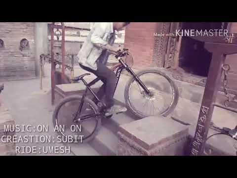 Cycle stunt by Umesh Deula