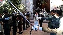 Boda militar en Sevilla