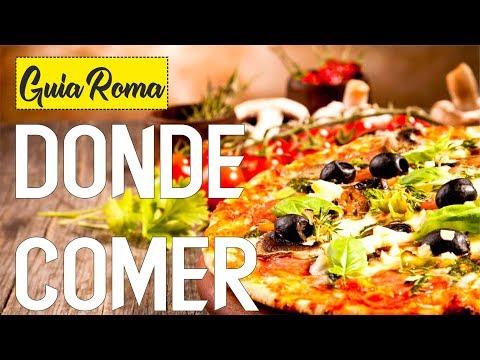 DONDE COMER EN ROMA BARATO Y BIEN