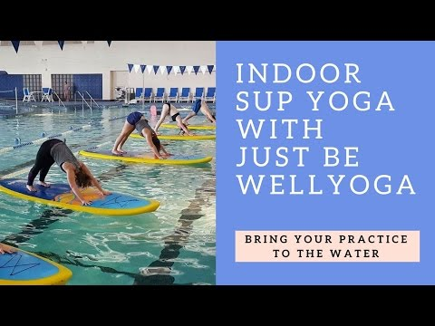 Indoor Paddle Board Yoga