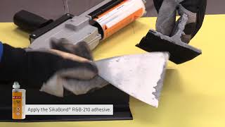 SikaBond® R&B-210 (Adhesive for rubber bonding), PART 3