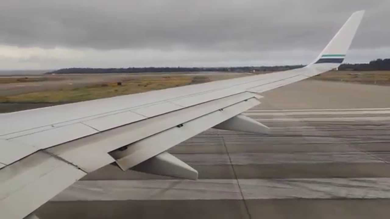 Alaska Airlines Boeing 737 900 N319as Takeoff From Sea