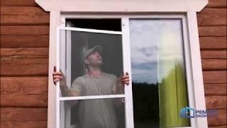 Как установить москитную сетку на пластиковое окно самостоятельно