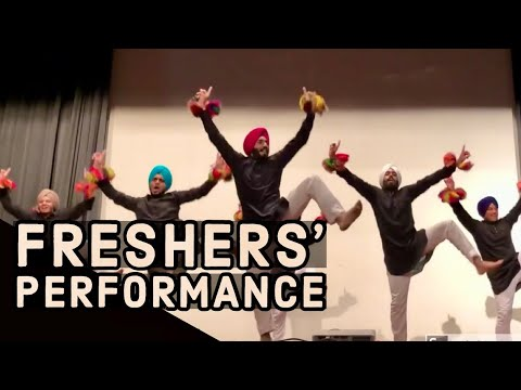Bhangra | Performance At Fresher's Party | Folking Desi | Best Bhangra Mashup 2019 | Girls Like You