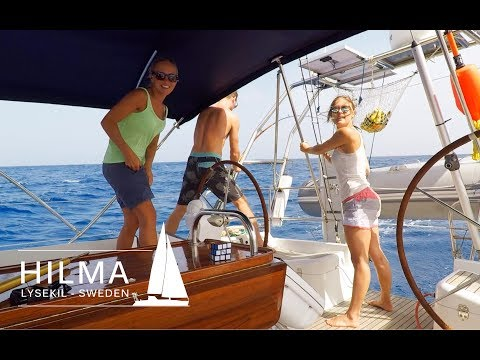 Hilma Sailing, crossing the Atlantic, part 2 and dorado fishing, Ep 14