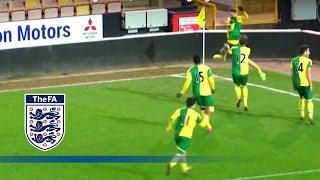 Norwich U18 5-4 Middlesbrough U18 (2015/16 FA Youth Cup R5) | Goals & Highlights