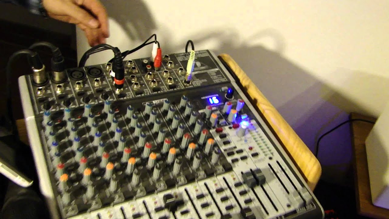 Behringer Xenyx X1622 Usb Mixer Keywood Monitoring Speaker Evo 4 Part 2