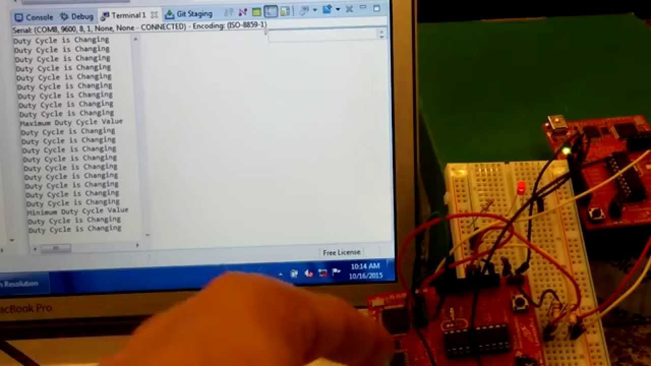 MSP430 Launchpad Project: Digital Communication using UART