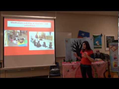 SAHAJA YOGA PRESENTATION ON MEDITATION WITH CHILDREN IN VANCOUVER