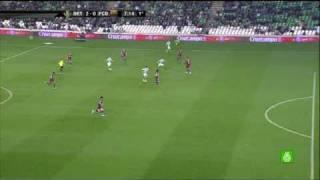 Real Betis 3 - FC Barcelona 1 | 3-1 | Copa 1/4 - 19-01-2011