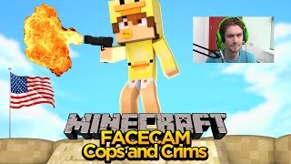 MINECRAFT FACE CAM - BABY DUCK GOES ON A KILLING SPREE!!!