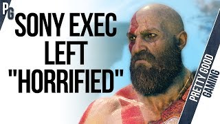 "Sony boss ""HORRIFIED"" with God of War 