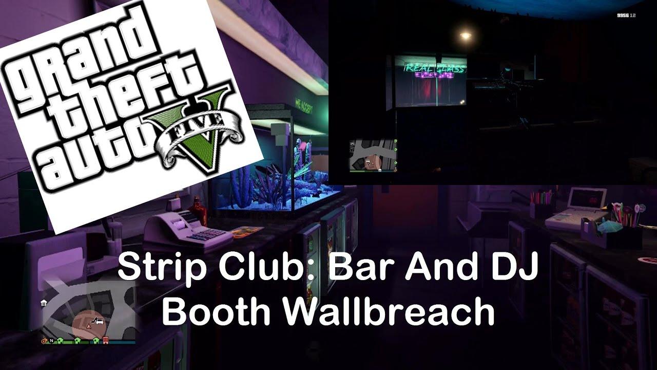 Gta 5 online strip bar
