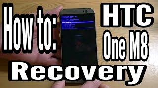 How To Get to Stock Recovery on the HTC One M8