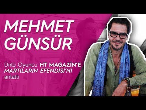 """Mehmet Günsür ile röportaj - """"Ben bir  hamurum"""" / HT Magazin"""