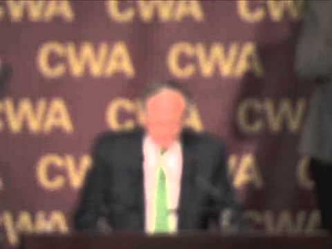 CWA 2009 Convention Tom Harkin
