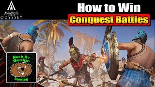 Assassin's Creed Odyssey - Tip's to win Conquest Battle's - Megrais Conquest