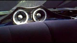 h bullet tweeters in car