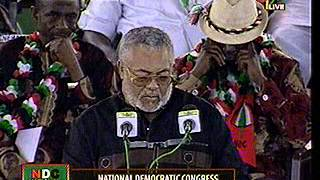 NDC Special Delegates Congress - Former President Rawlings' Address