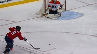 ovechkin passes for guaranteed goal instead of firing one timer