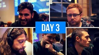 World Series of Poker Europe Main Event Day 3