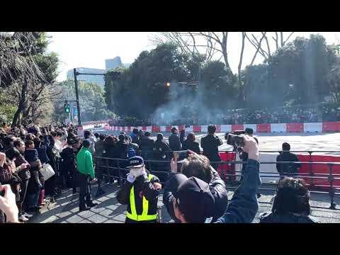 【F1日本】Red Bull Showrun Tokyo@明治神宮外苑いちょう並木【HONDA】【レッドブル】