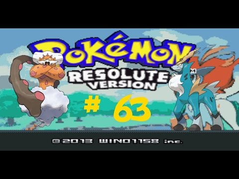 Pokémon Resolute Version! Cobalion, Terrakion, Virizion, Tornadus, Thundurus y Landorus! #63