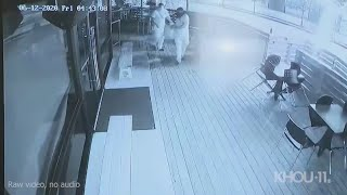 Raw video: Arsonists pour gas, causing explosion at Houston bar | Who are they?