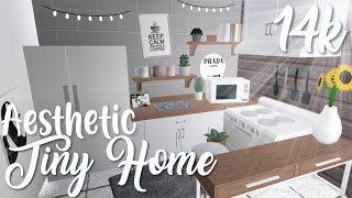 14k Aesthetic Tiny Home | Bloxburg