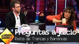 Candela Peña reparte justicia con Trancas y Barrancas - El Hormiguero 3.0