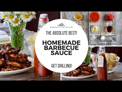 THE BEST HOMEMADE BARBECUE SAUCE RECIPE