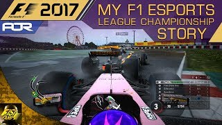 F1 2017 | My F1 Esports Story - PC League Championship (all 3 Races)